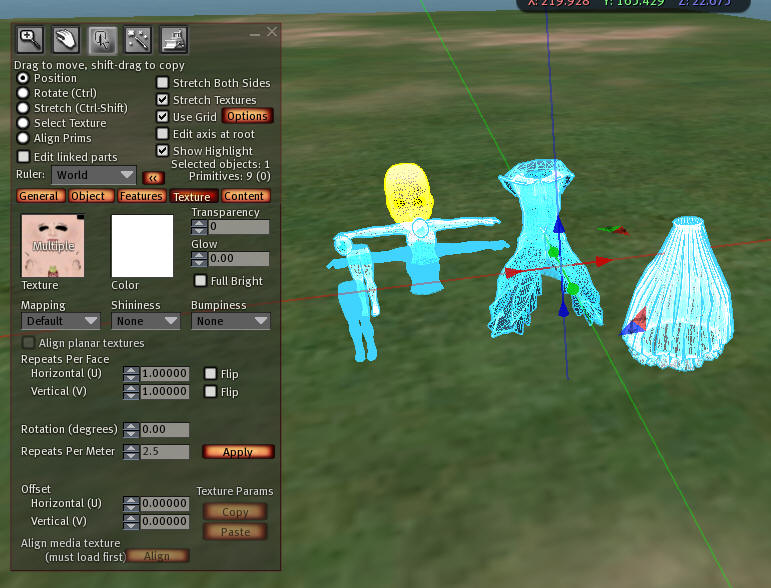 How to make Aili- a Free Mesh Avatar for Second Life and OpenSim