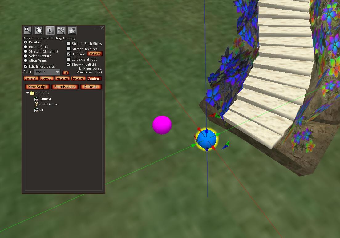 Off-sim PoseBalls for Second Life