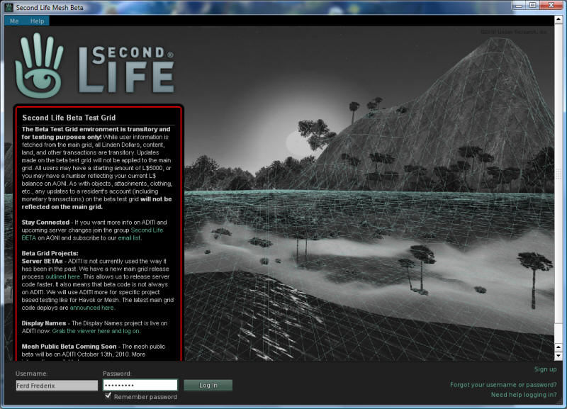Mesh in Second Life